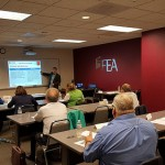 Chris at FEA teaching CFM